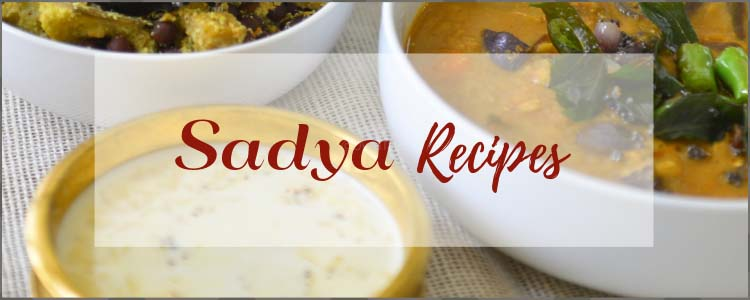 A collection of Kerala Sadya Recipes from Oventales.com