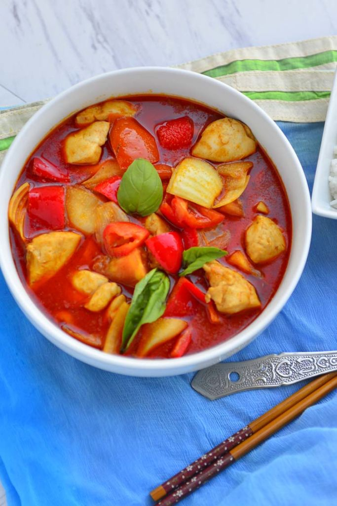 Easy Thai Red Curry With Chicken