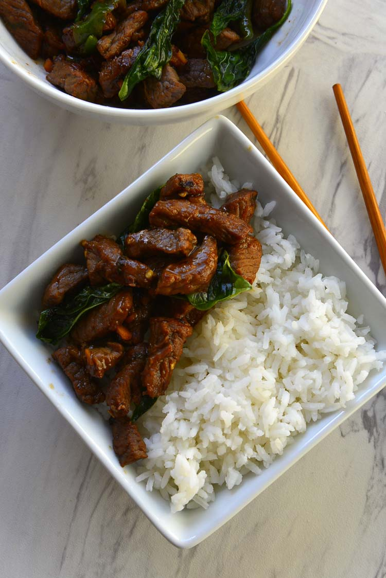 Stir Fried Thai Basil Chili Beef