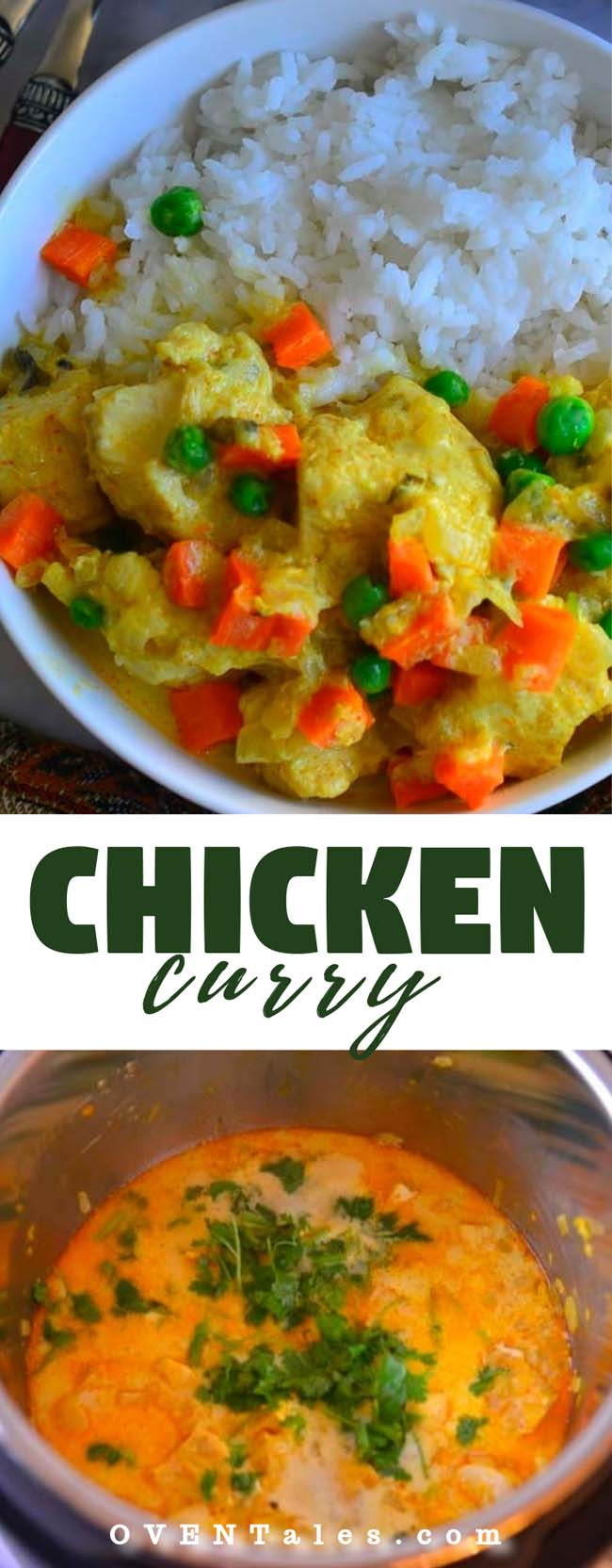 Easy Chicken Curry With Vegetables In Pressure Cooker