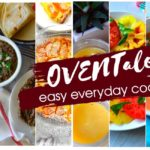 A collage of oventales recipe pictures